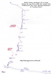 Combinaison Barrère-Gillereau et Candau-Peres au cap d'Aou (02 novembre 2013) topo-barrere-gillereau-212x300