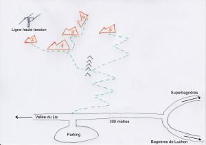 accès vallée du Lis
